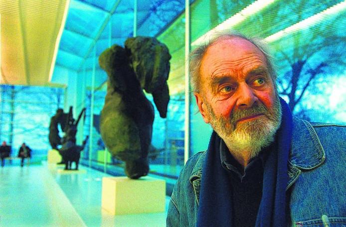 arius van Beek in 2001. archieffoto: Hans Broekhuizen/DG
