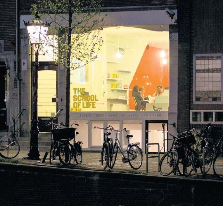 The School of Life aan de Herengracht in Amsterdam. Beeld Francois Luxembourg