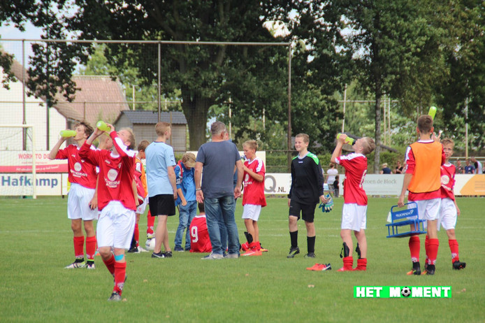 De eerste winnaar van Het moment; een beeld uit de wedstrijd FCV Venlo - Achates. Foto: Miriam Donkers.