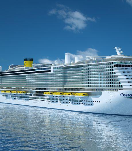 Eerste cruiseschip op gas meert volgende maand in Rotterdam aan