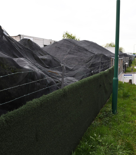 Mogelijk oplossing voor stapels kunstgras bij Tuf Recycling in Dongen, bedrijf werd bedreigd voor verwoestende brand