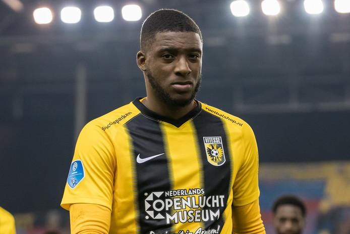 26-01-2020: Voetbal: Vitesse v FC Emmen: Arnhem soccer Eredivisie 2019-2020 L-R Riechedly Bazoer of vitesse
