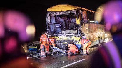 Tweede buschauffeur nog in Duits ziekenhuis, andere gewonden weer in België na ongeval in Beieren