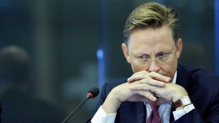 VVD-Kamerlid Han ten Broeke in de Tweede Kamer. Beeld anp