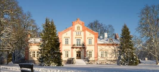 De idyllische Pädaste Manor op het Estse eiland Muhu.