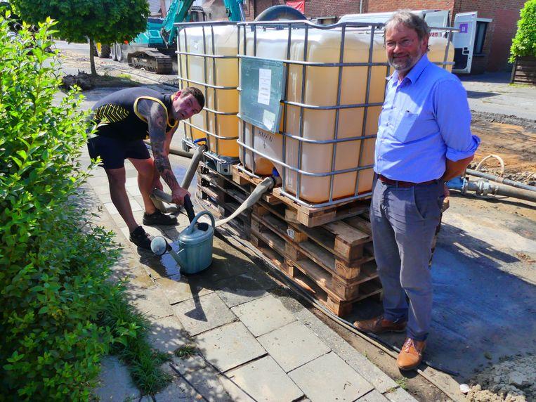 Grondwater van bouwwerven aftappen voor privégebruik? In Deinze geven ze al het goede voorbeeld.