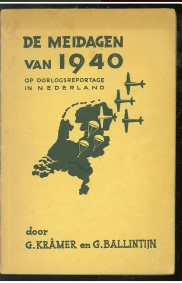 Gerard Ballintijn De meidagen van 1940 cover