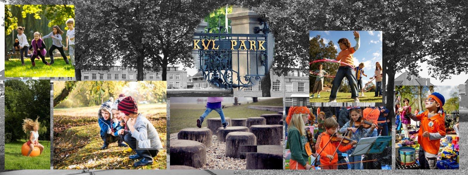 Impressie van het 'KVL Park'