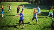 Yoga met zwaard: de nieuwe workout-hype Yungshin