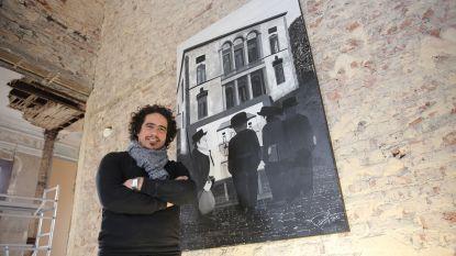 Kunstenaar Michael Peetermans zet 'De boekhouding van Halle' op doek: Halse 'commerce' krijgt eigenzinnige interpretatie