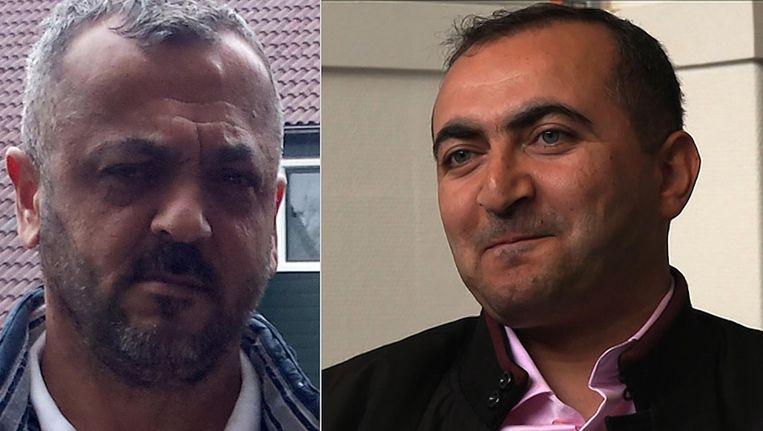 Haydar Zengin (rechts), eveneens vermoord, leek sterk op de Zeynel Er. Beeld -