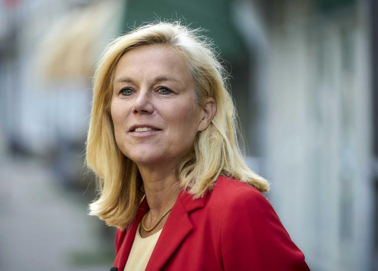 Minister Sigrid Kaag wil de nieuwe lijsttrekker van D66 worden. Beeld ANP