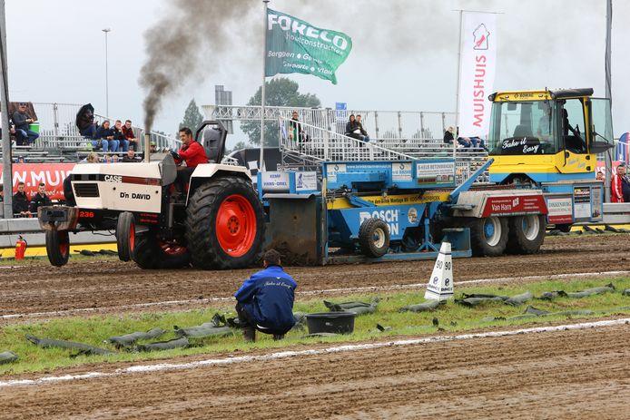 Een eerdere editie van Truck- en Tractorpulling Hoogblokland.