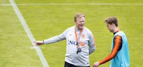 Oranje bereidt zich in open training voor op Engeland