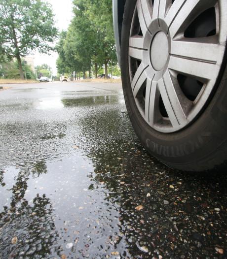 Olie op de weg zorgt voor vertraging tussen Gouda en Bodegraven