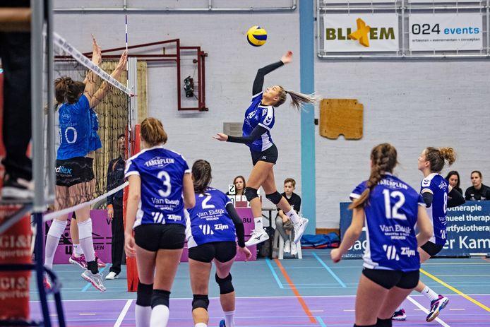 De Vocasa-vrouwen in actie in de topdivisie.