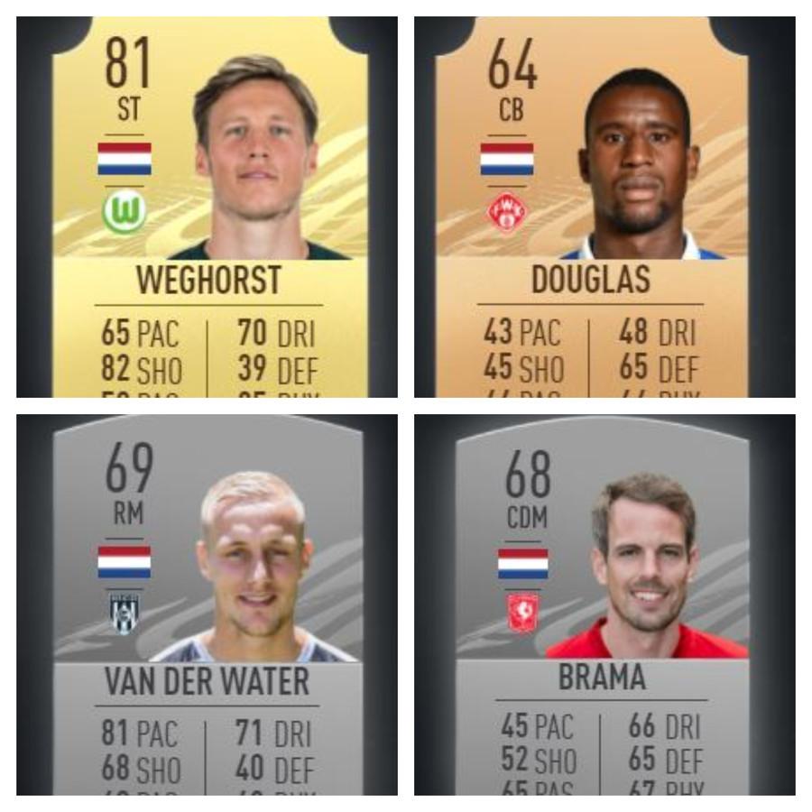 Weghorst, Douglas, Van der Water & Wout Brama zijn vanaf vandaag allemaal terug te vinden in FIFA21.