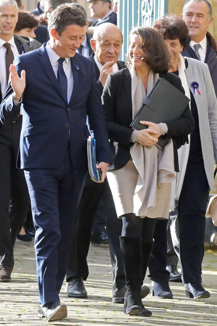 Benjamin Griveaux et Agnes Buzyn le 7 novembre 2018