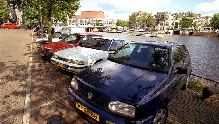 Als de garage er is, heft Westerpark boven de grond hetzelfde aantal parkeerplaatsen op om ruimte te maken voor speelplaatsen en groen. Foto ANP Beeld