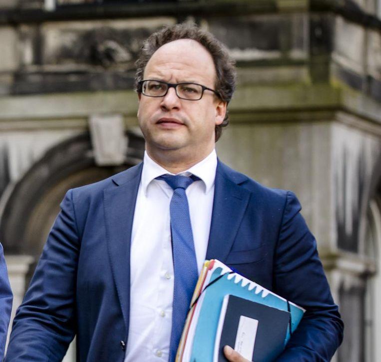 Zijn post ligt nog niet vast, maar Wouter Koolmees geldt als belangrijkste kandidaat voor Sociale Zaken. Beeld anp