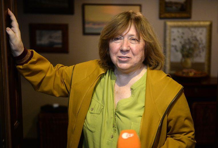Svetlana Alexijevitsj. Beeld EPA