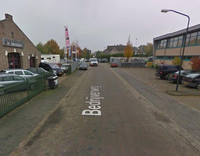 De Bedrijvenweg in Sint-Michielsgestel.