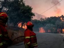 Plus de mille pompiers contre des feux de forêt au Portugal