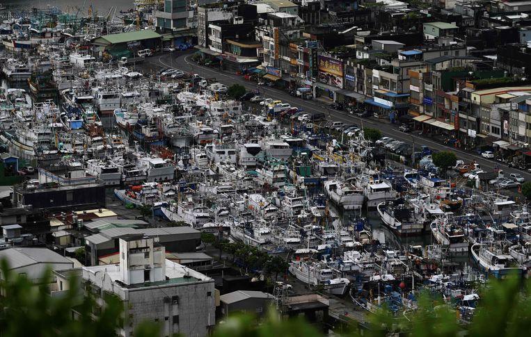 Taiwan zet zich intussen ook schrap voor de komst van de krachtige tyfoon Lekima.