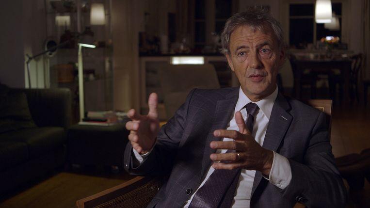 Initiatiefnemer van de euthanasiewet Roger van Boxtel in de documentaire over de Levenseindekliniek. Beeld KRO-NCRV