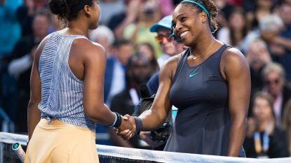 Serena neemt revanche op Osaka - Lastige klant voor Goffin in eerste ronde Cincinnati