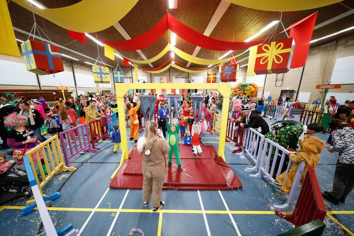 Zevenbergen - 24-2-2020 - Foto: Pix4Profs/Marcel Otterspeer - Traditionele spelletjesmiddag voor de kinderen van ut Zeuvebultelaand in de Borgh.