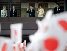 Japanse kroonprins oefent voor inhuldiging