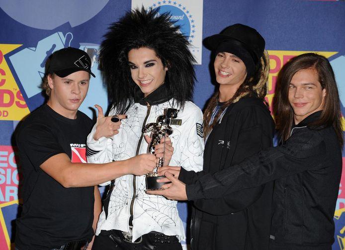 Tokio Hotel in 2008.