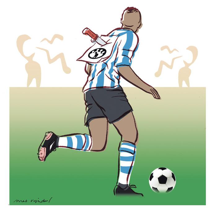 Racisme in het amateurvoetbal; een kwart van de clubs krijgt ermee te maken