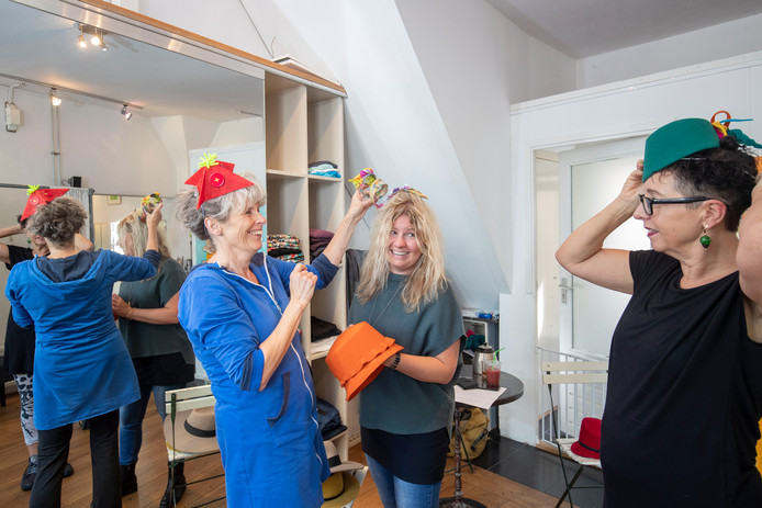 Dag van de Hoed, Marja Schoenmaker, Odylle Verkuijl en Trudi Windou.