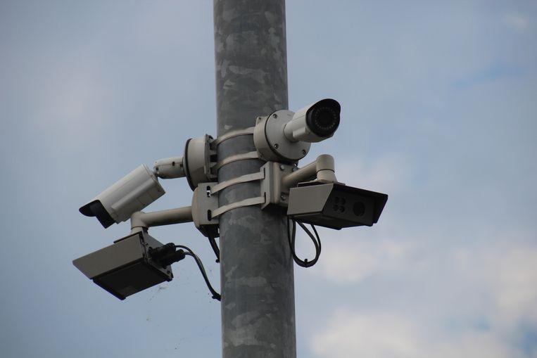 ANPR-camera (Archiefbeeld).