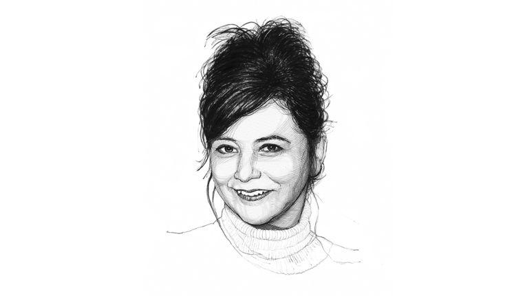 Ellen Dikker. Beeld Wolff