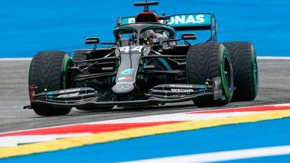 Hamilton de snelste bij eerste vrije oefenritten in Oostenrijk, Mercedes bevestigt gebruik veelbesproken foefje