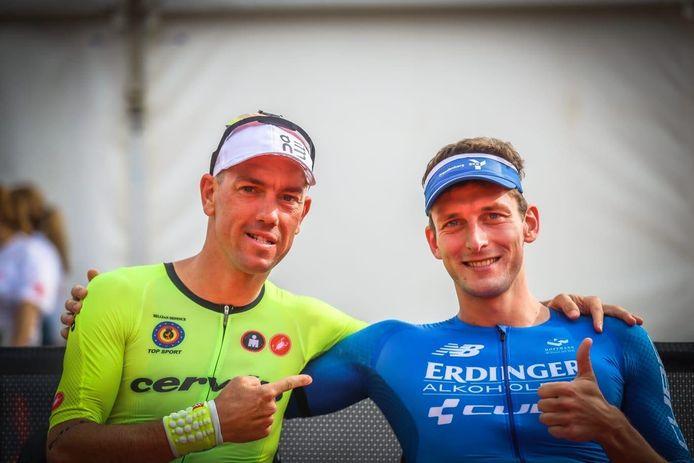 Frederik Van Lierde met winnaar Angert (rechts).