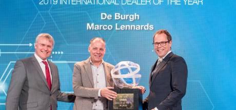 DAF-dealer De Burgh/Lengo uit Eindhoven internationaal dealer van het jaar