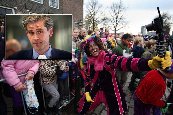 Burgemeester Wouter Kolff vindt dat het niet aan de gemeenteraad is om zich uit te spreken over Zwarte Piet.