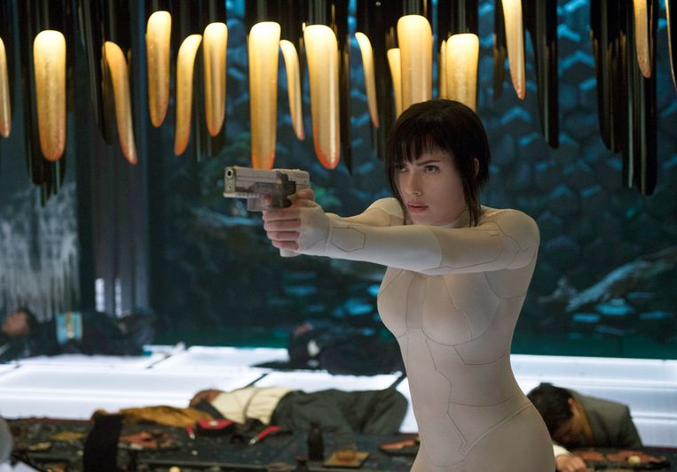 Scarlett Johansson in 'Ghost in the Shell'.