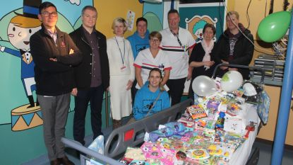 Kinderbox op spoed ASZ is nu magische speelkamer dankzij Foundation Jana De Koker