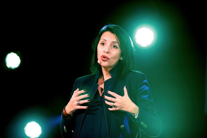 Zakia Khattabi, coprésidente d'Ecolo