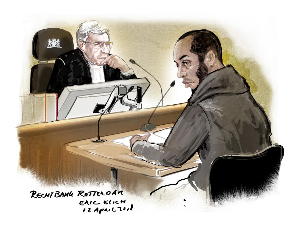 Arthur C. in de Rotterdamse rechtbank