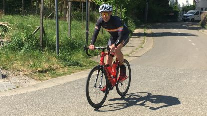 Campenaerts achterna: wielertoerist  Sander Bulens rijdt de Sigarenberg 101 keer op