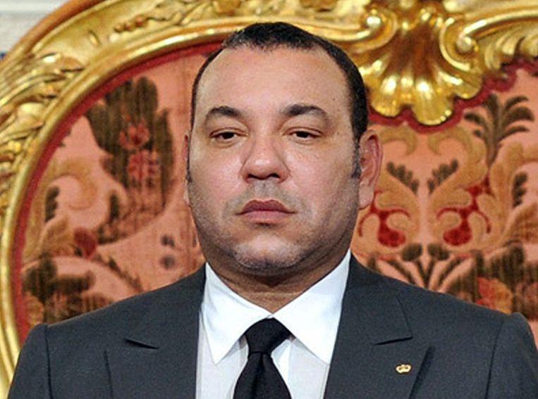 Koning Mohammed VI van Marokko.