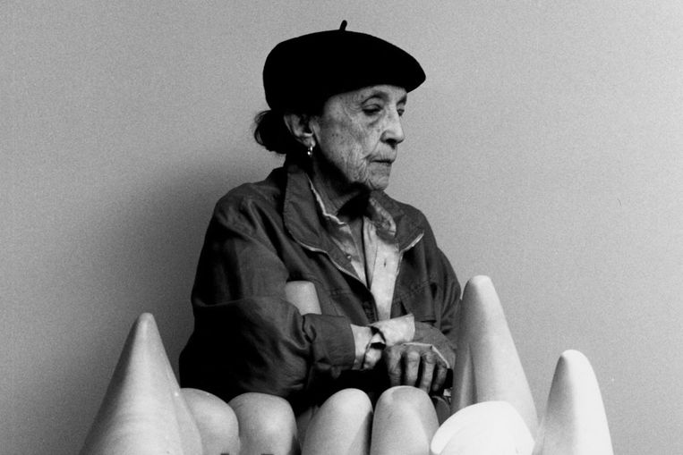 Louise Bourgeois (AP) Beeld