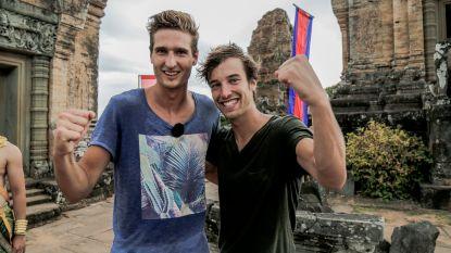 Cedric en Brecht winnen 'Peking Express'