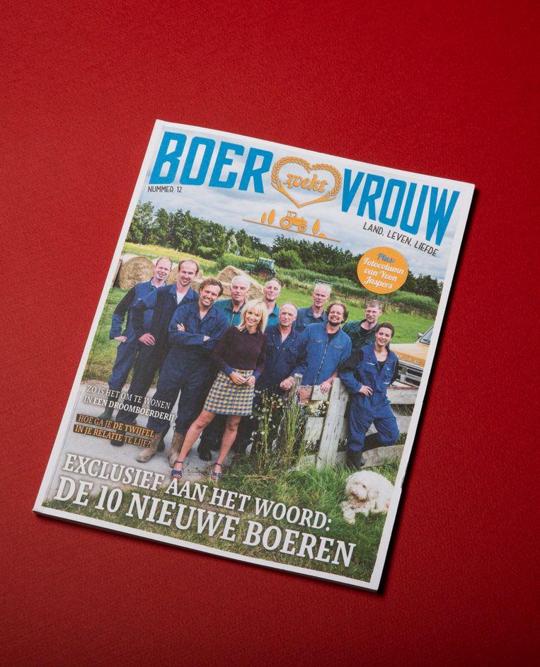 Het Boer zoekt vrouw magazine.   Beeld null